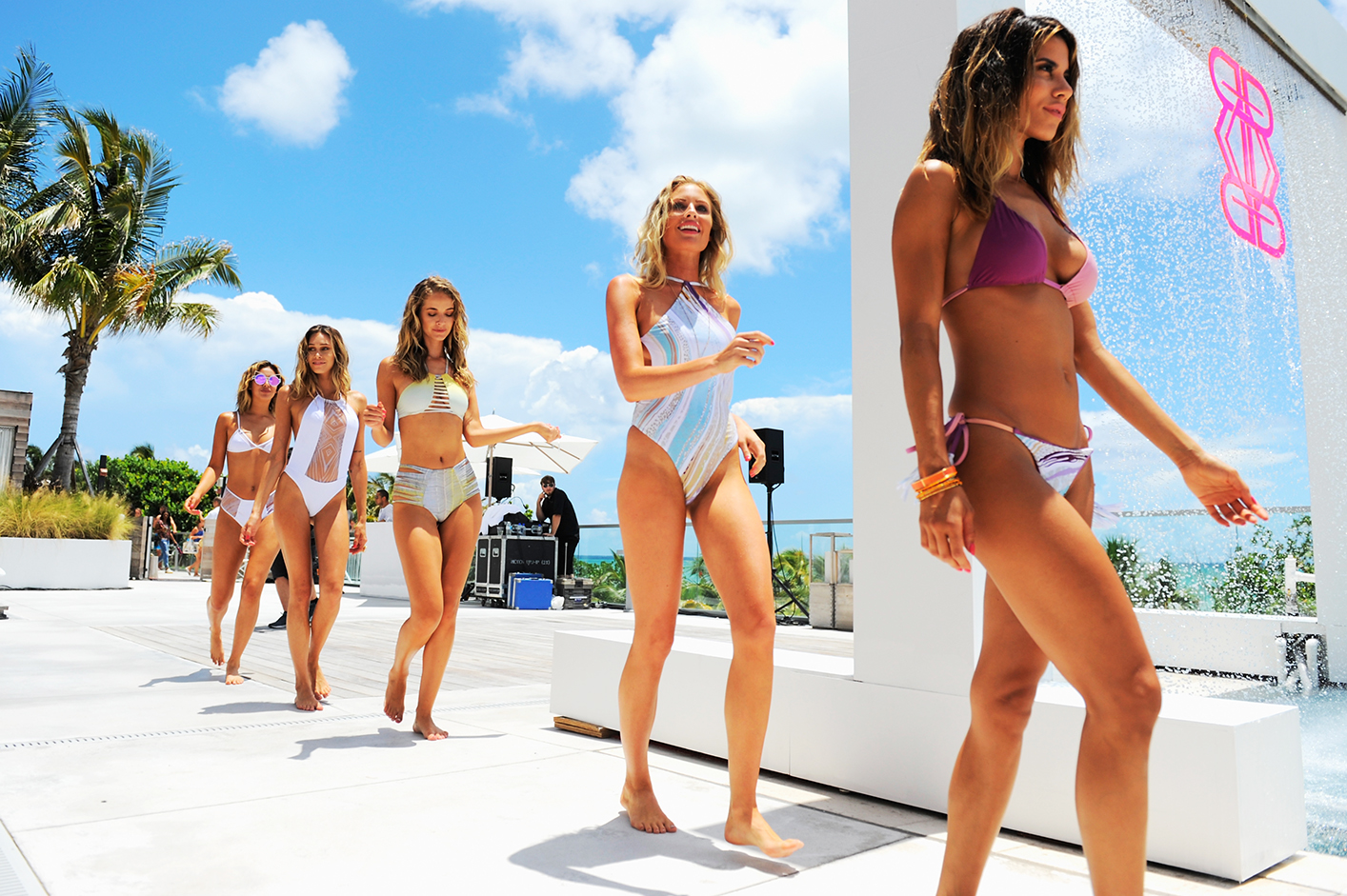 Revel Rey 2017 Collection at SwimMiami - Runway