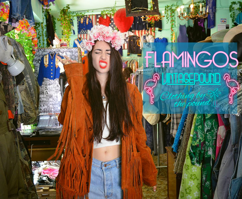 FLAMINGO-Vintage Pound-Grand Opening-'It's  a Groovy Kind of Love', Saving the Planet, Stylishly. Sept 21-22 '18